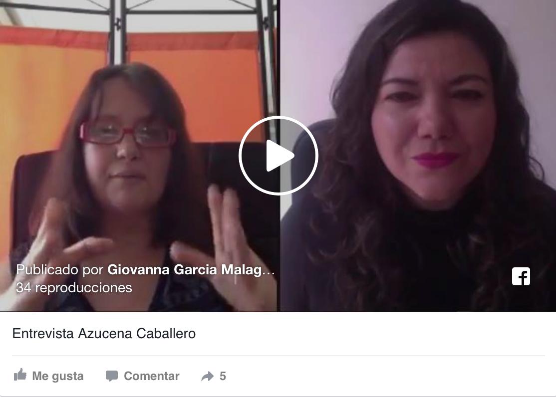 Me entrevista Giovanna García Malagón sobre emprendimiento y homeschooling